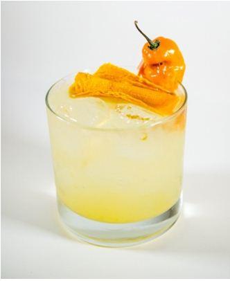 mango scotch bonnet margarita