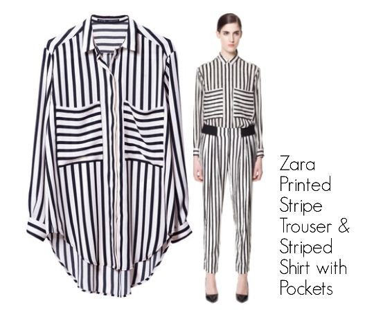 Zara Striped Shirt. $59.90.