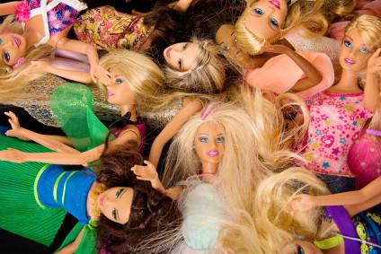 Make-Under: Artists Reveal Barbie's Bare Face