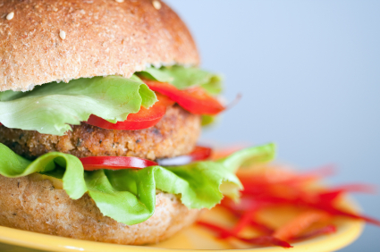 Fast Food at Home with Veggie Burgers