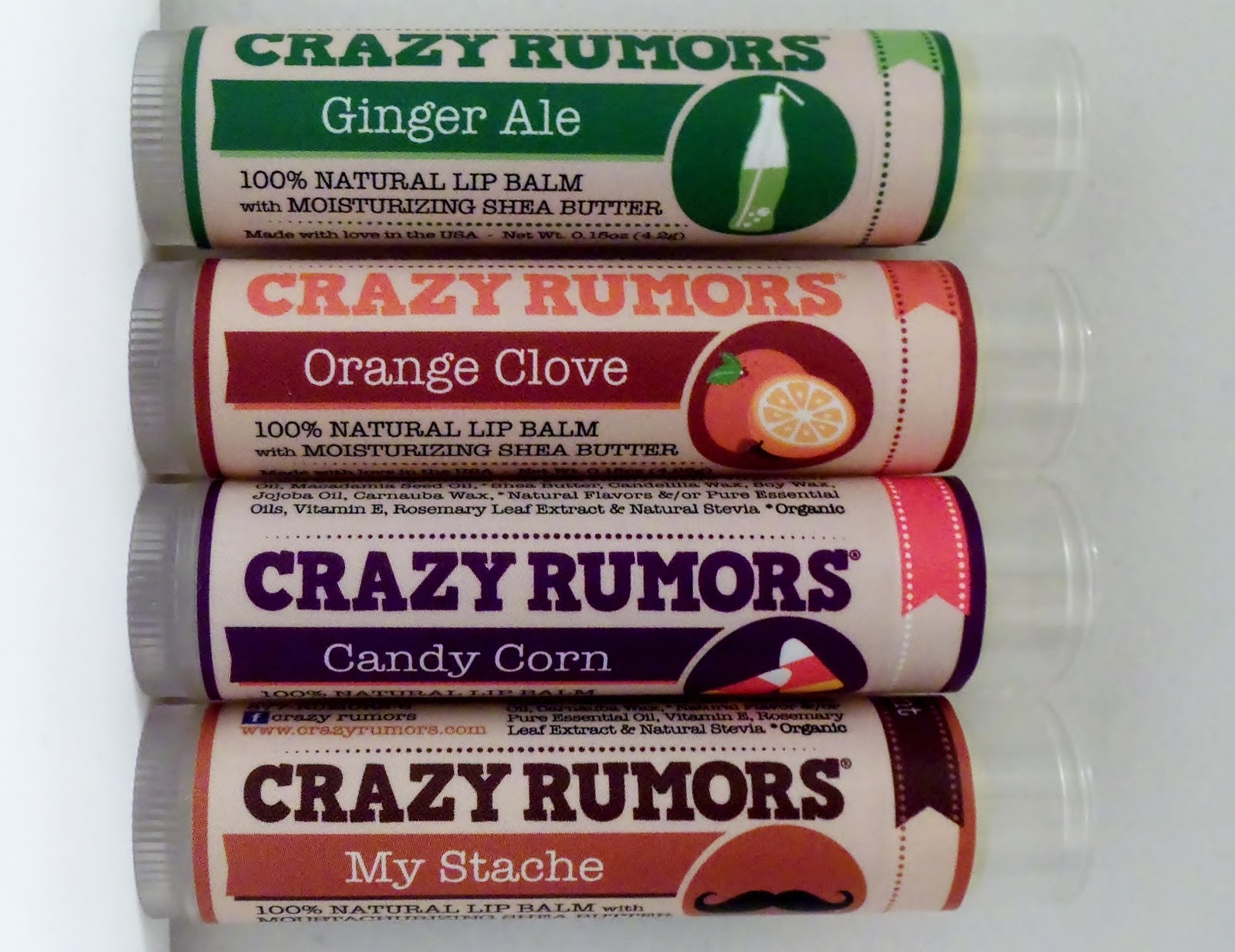 Lip Service: Crazy Rumors Lip Balms Benefit Charity