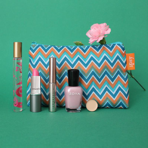 Makeup bag monthly subscription