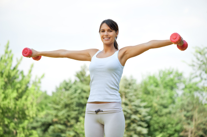Weighting Around: Three Arm Toning Exercises