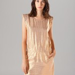 Maje Dress Aude Metallic.
