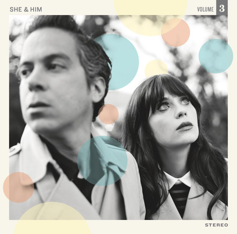 Twee + Him: Zooey Deschanel and M. Ward's New Album (With Matching Mani Decals)