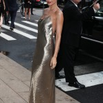 Nicole Richie glowing at the CFDA Awards.