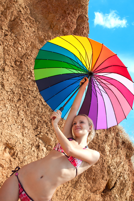 White Flag: I Give Up On Trying To Look Tan