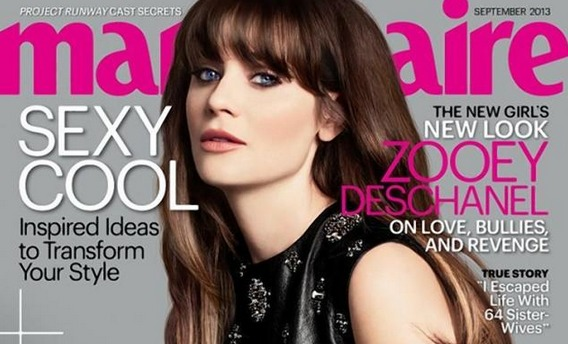 Phonyshop: Marie Claire's Unreal Retouch of Zooey Deschanel