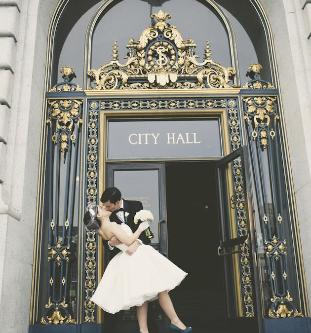 Vintage-San-Francisco-City-Hall-Wedding-