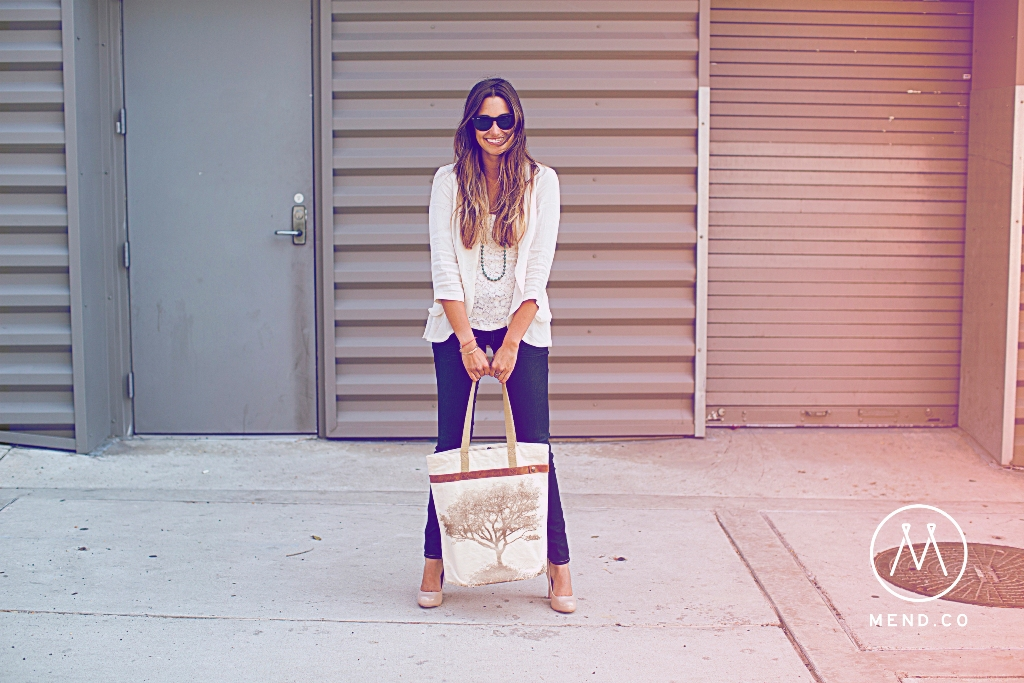 Mend - Canvas Tote Lifestyle 12