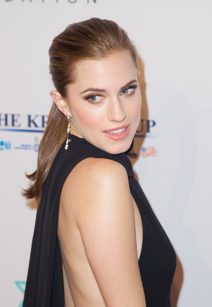 Elton John AIDS Foundation?s 12th Annual An Enduring Vision Benefit at  Cipriani Wall Street in New York City Featuring: Allison Williams Where: New York City, NY, United States When: 15 Oct 2013 Credit: Alberto Reyes/WENN.com