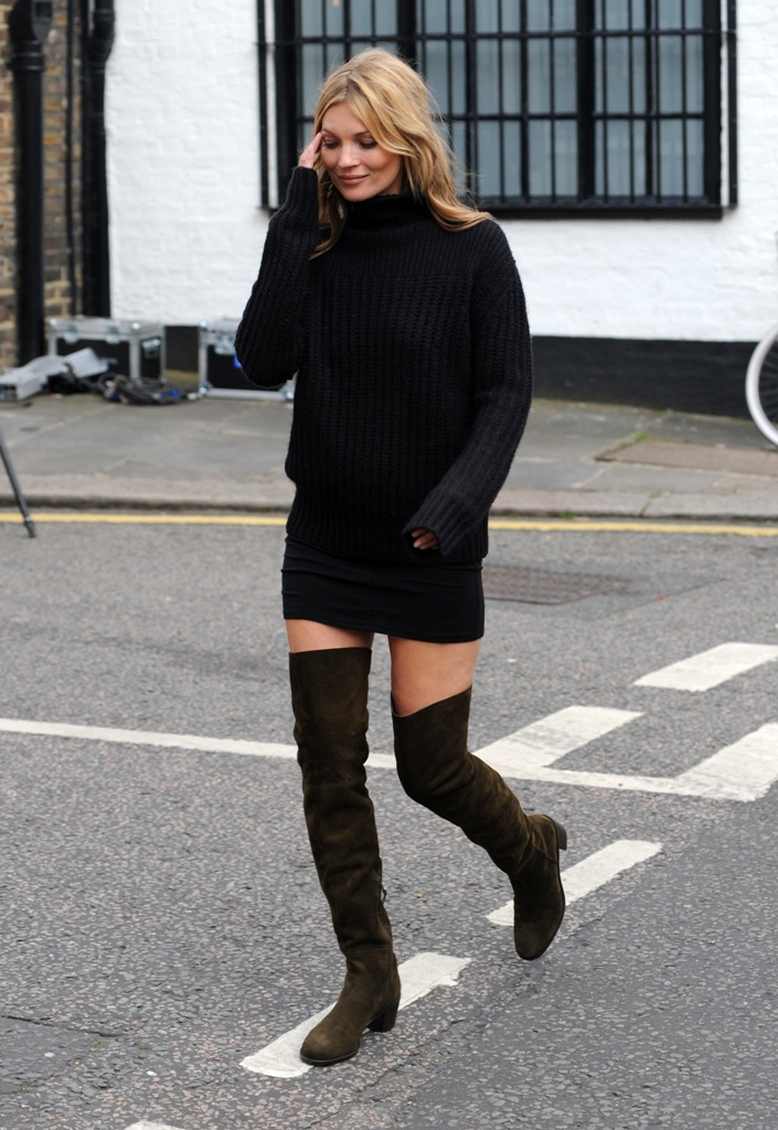 Thigh-High Boots Were Made for Walking