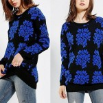 Urban Outfitters MINKPINK Baroque Oversized Pullover