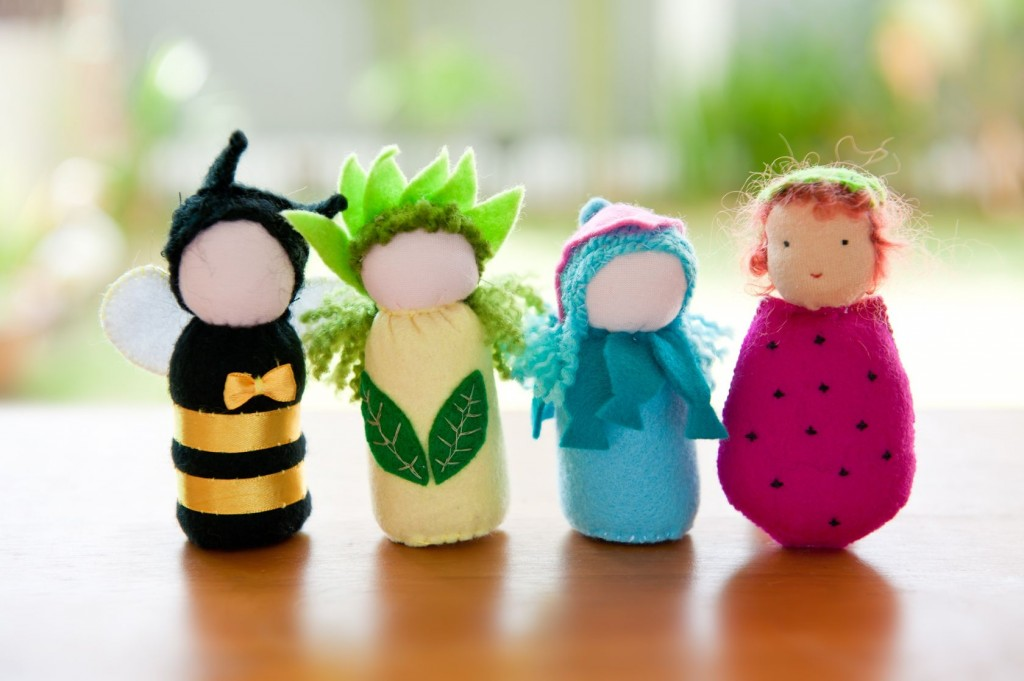 diy finger puppets, all the better to flip you the bird with.