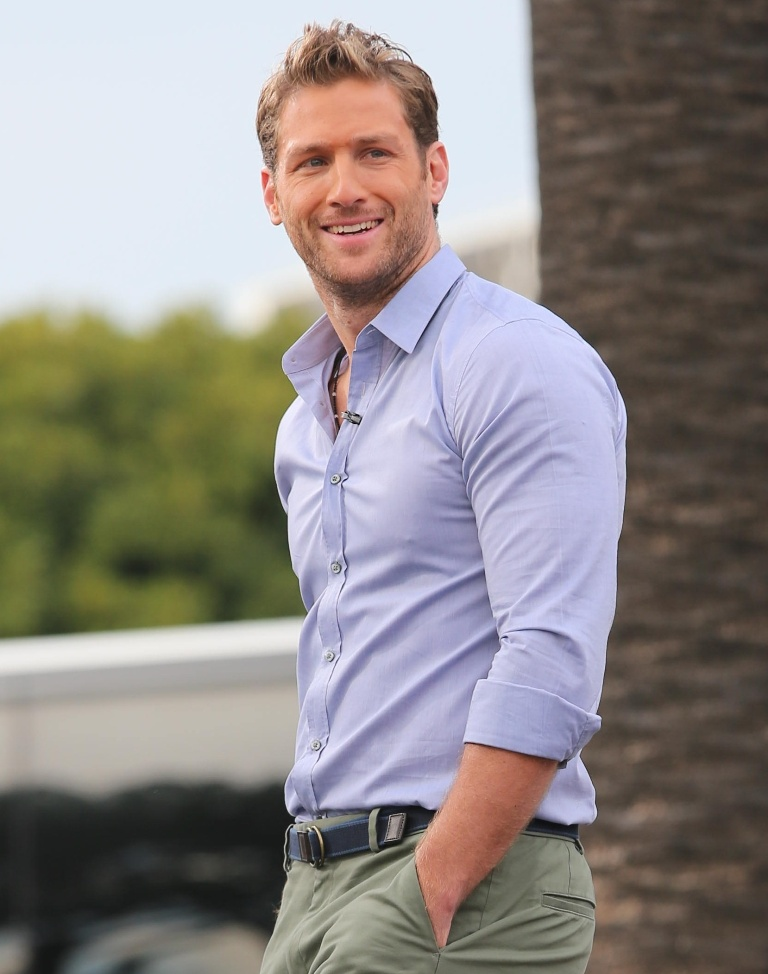 Juan Pablo appears on Extra hosted by Mario Lopez and Maria Menonous Featuring: Juan Pablo Where: Los Angeles, California, United States When: 07 Jan 2014 Credit: WENN.com