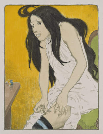 La Morphinomane [The Morphine Addict]. Eugene Graset, 1897.