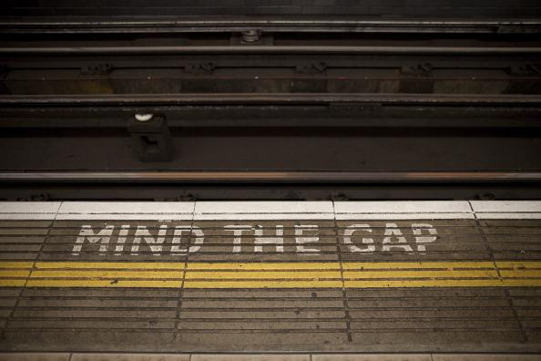 we'd rather ignorethe gap, honestly.