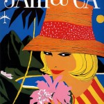 Delta Airlines, Jamaica Poster, 1960s