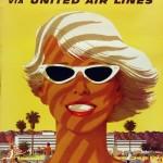 United Air Lines, California, Stan Galli, 1955