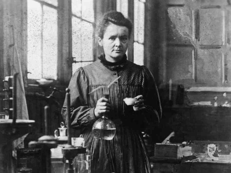 Curie, not Antoinette.