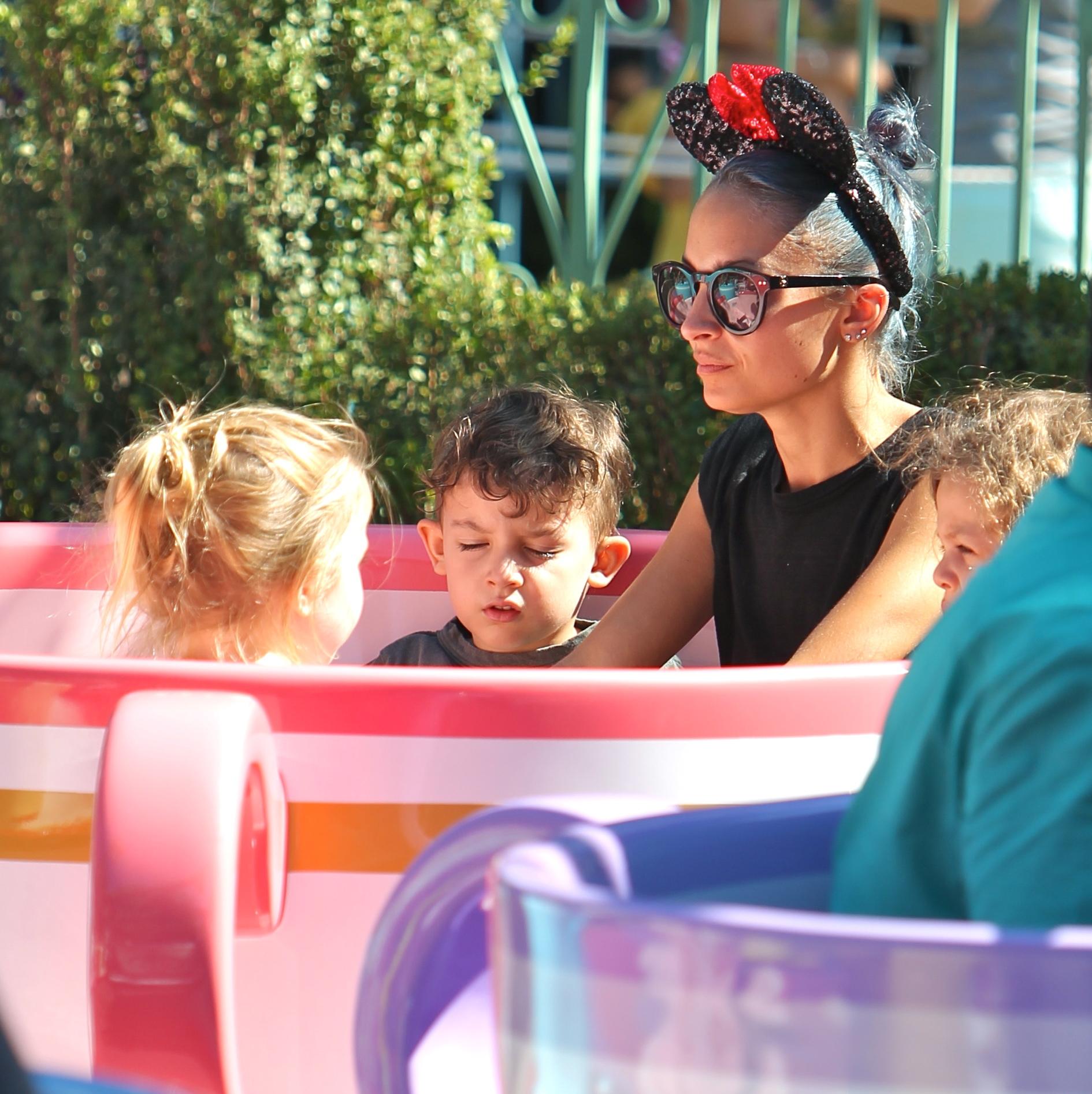 Nicole Richie At Disneyland