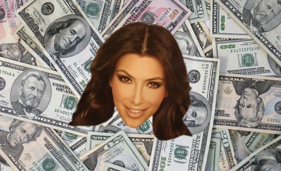 kim kardashian money