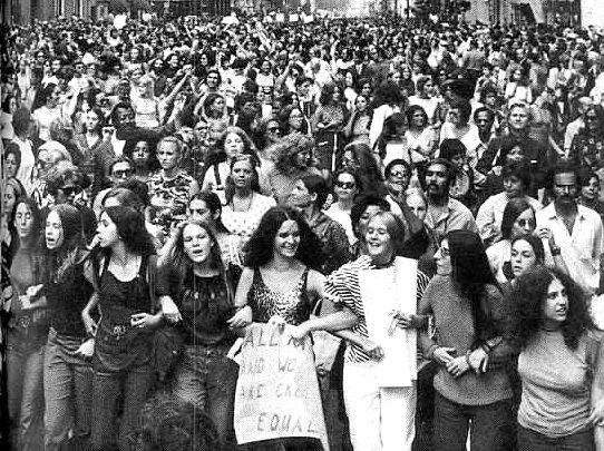 Equal Rights 1970 March (Public Domain)