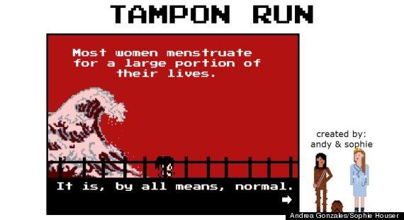 tampon run