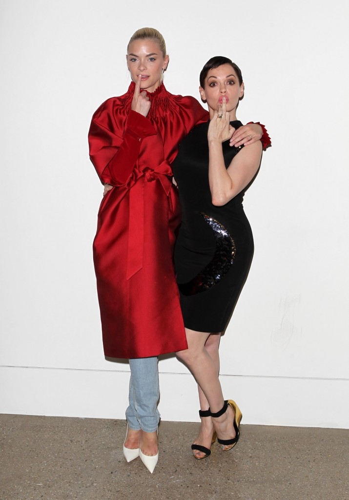Gavlak Gallery in Hollywood fashion show - Backstage