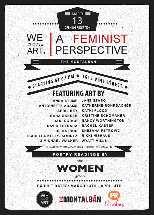 WeChooseArt Feminism