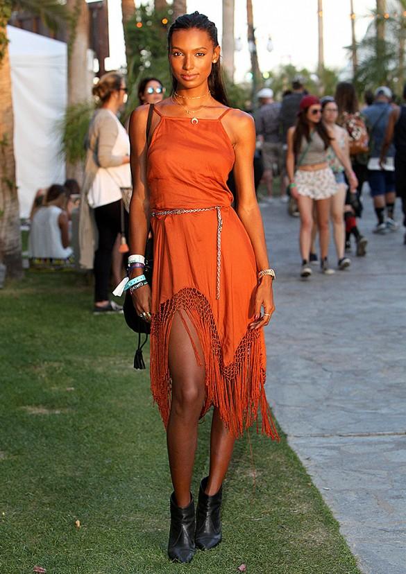 Jasmine Tookes Fringe Hemi Maxi Dress From Topshop Makes