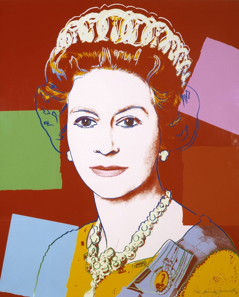 Queen Elizabeth II of the United Kingdom 1985 by Andy Warhol 1928-1987