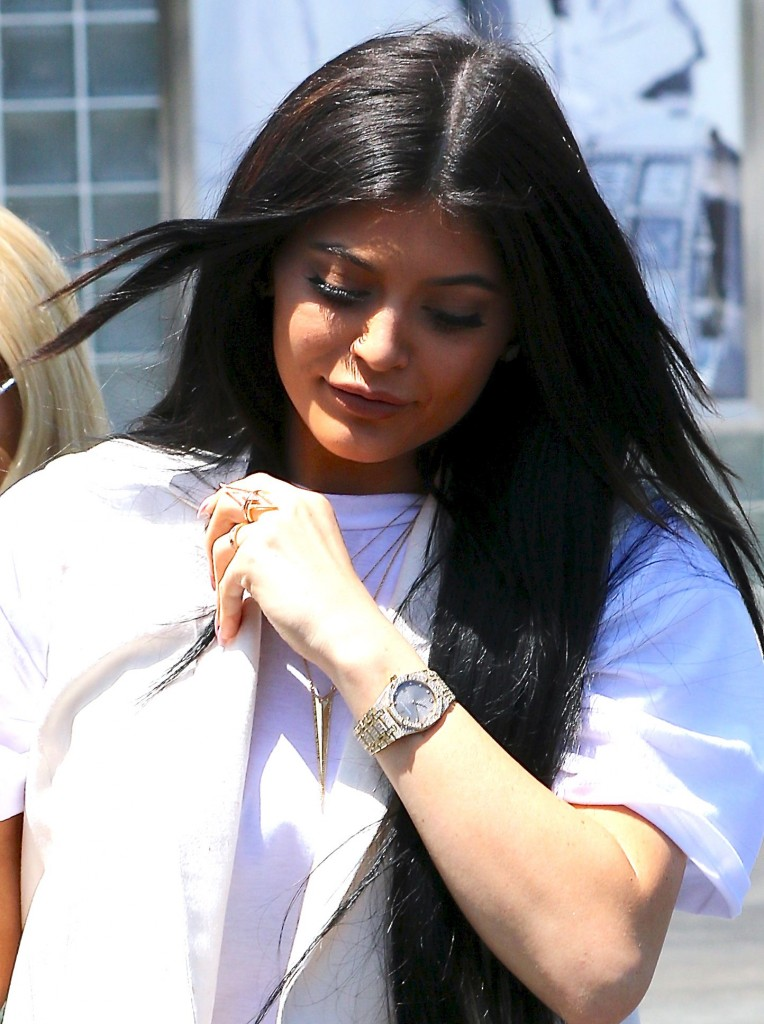 Kylie Jenner shops at Fred Segal Featuring: Kylie Jenner Where: Los Angeles, California, United States When: 18 Jun 2015 Credit: WENN.com