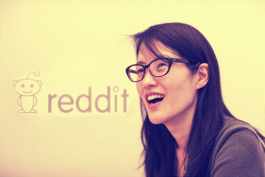 ellen pao, former CEO of Reddit