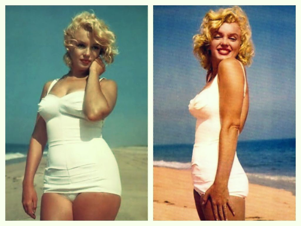 marilyn monroe thick and thin