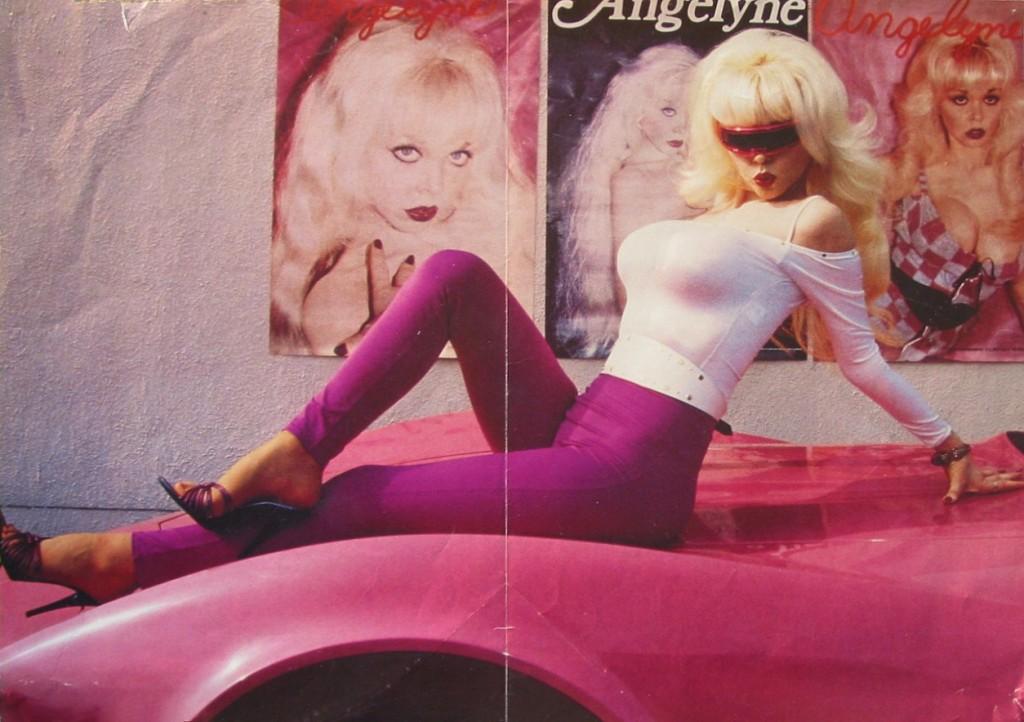 Angelyne in the flesh.