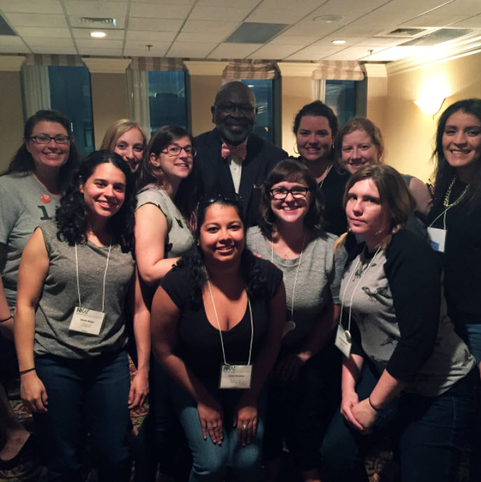 DC Abortion Fund case managers with Dr. WIllie Parker, one of two providers at the only abortion clinic in Mississippi, the Jackson Women's Health Organization