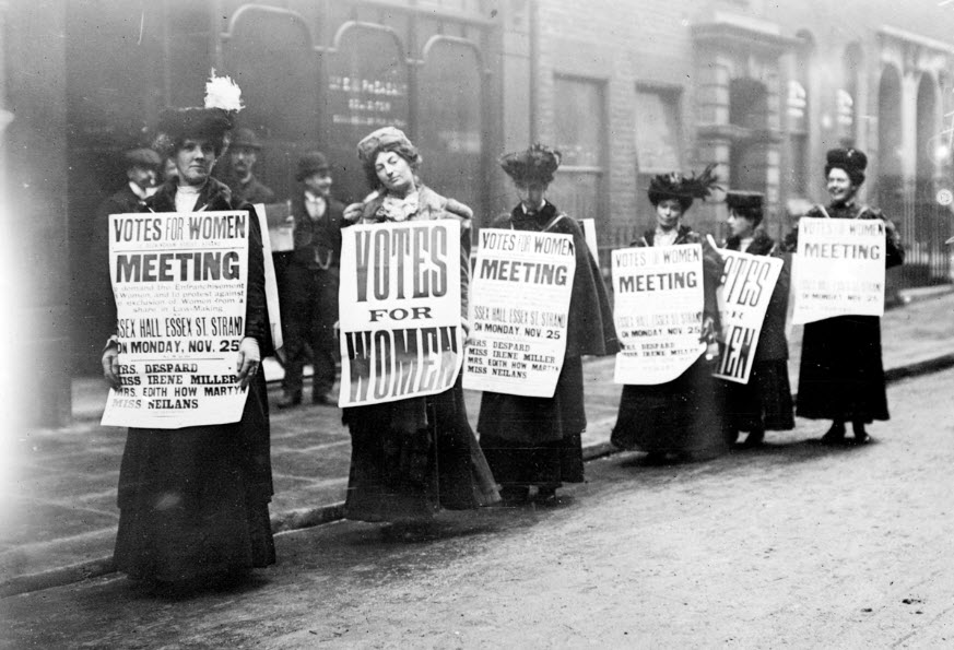 real suffragettes