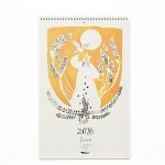 Free People 2016 Hanging Calendar