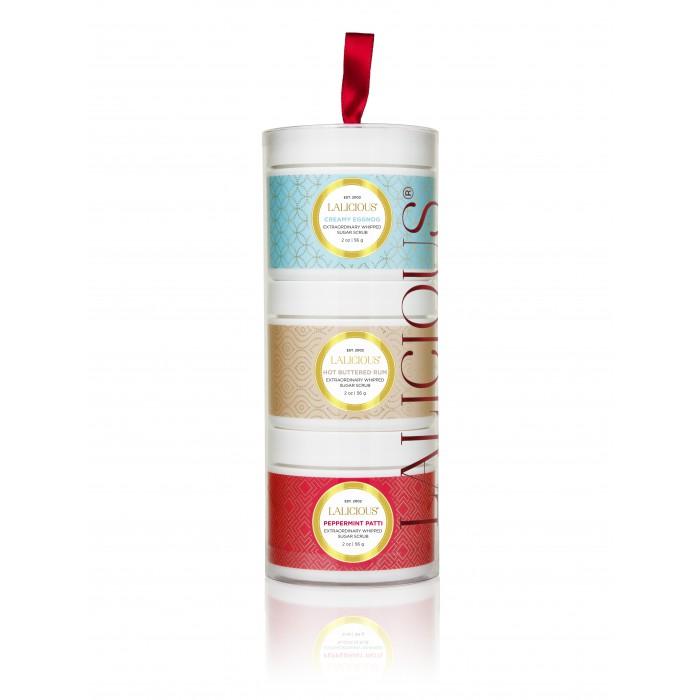 LALICIOUS Limited Edition Holiday Sugar Scrub Tower