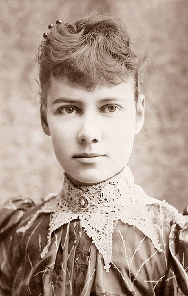 Shoutout To Nellie Bly Who Became The First Woman Today