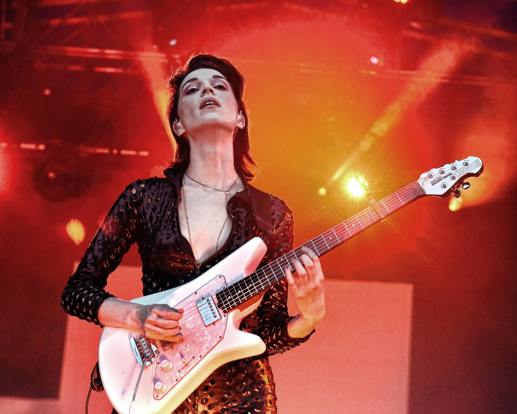 St Vincent performs live at The Iveagh Gardens Featuring: St Vincent (Annie Clark) Where: Dublin, Ireland When: 10 Jul 2015 Credit: WENN.com **Not available for publication in Ireland**