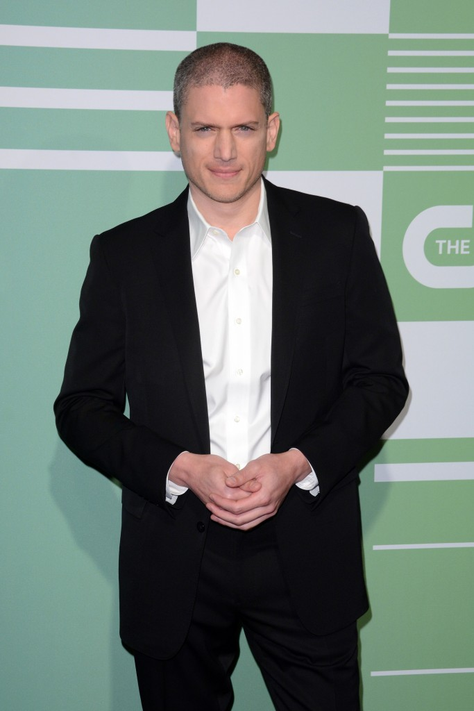 The CW Network's New York 2015 Upfront Presentation - Arrivals Featuring: Wentworth Miller Where: New York City, United States When: 14 May 2015 Credit: Ivan Nikolov/WENN.com