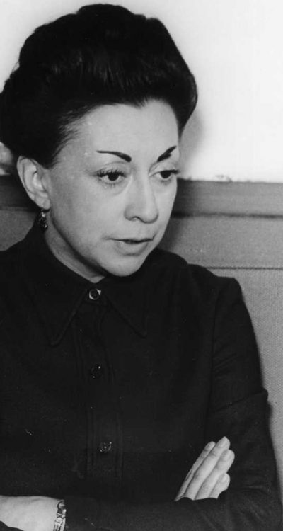 Happy birthday to Rosario Castellanos, one of Mexico's most prominent authors of the 20th century.