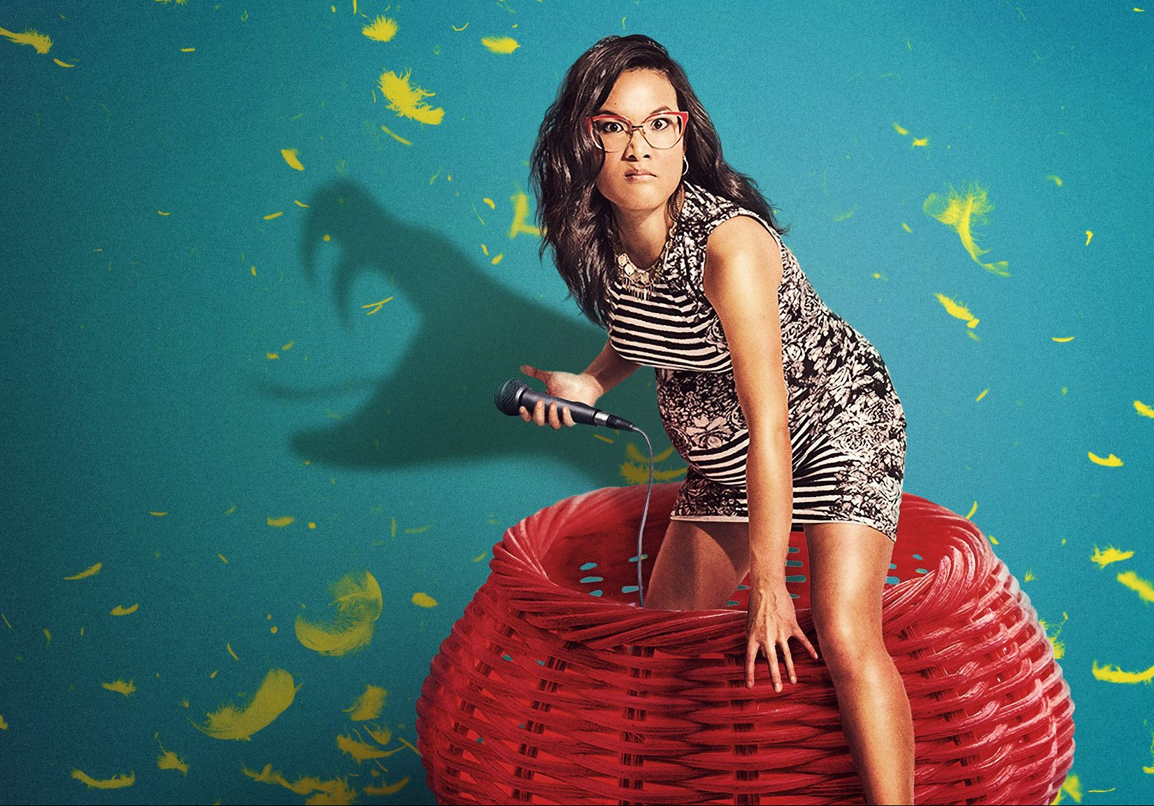 promotional still for Ali Wong's Baby Cobra Netflix special