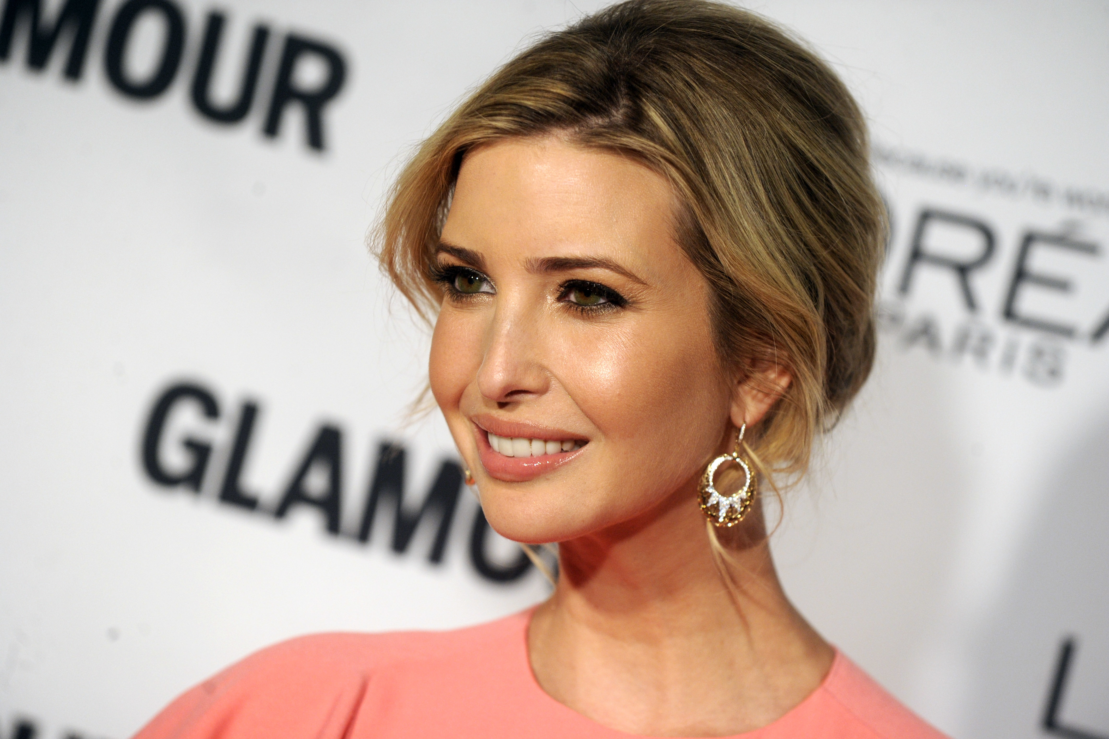 Glamour's 25th Anniversary Women of the Year Awards in New York Featuring: Ivanka Trump Where: New York, New York, United States When: 09 Nov 2015 Credit: Dennis Van Tine/Future Image/WENN.com **Not available for publication in Germany, Poland, Russia, Hungary, Slovenia, Czech Republic, Serbia, Croatia, Slovakia**