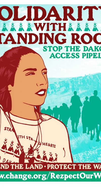 Stand in solidarity with Standing Rock. Give now.